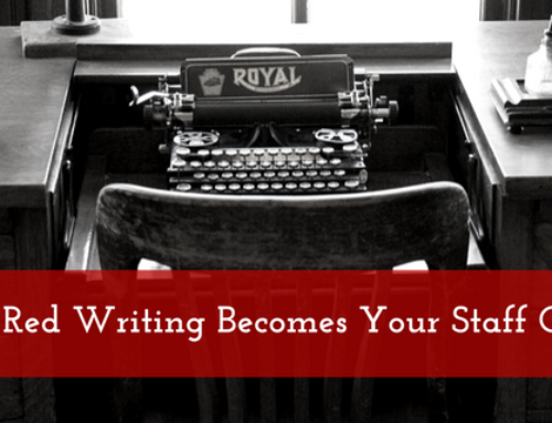 How Little Red Writing Becomes Your Staff Copywriter