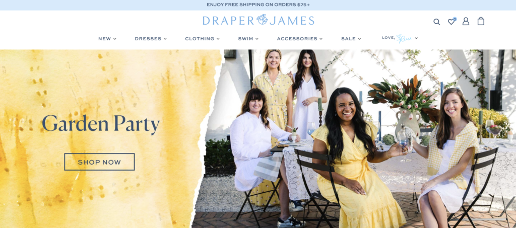 draper james brand imagery