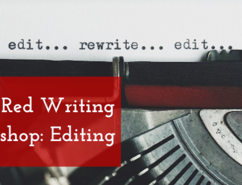 Little Red Writing Workshop: Editing