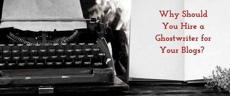 blog ghostwriter